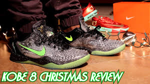 christmas kobes ss christmas 8 w onfeet review sharkeisha specials