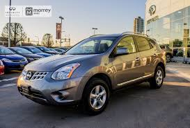 nissan rogue fully loaded used 2013 nissan rogue awd special edition one owner bc car in