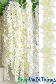 silk flowers hanging flower garlands silk wedding florals shopwildthings