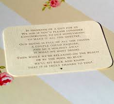 wedding gift list wording wedding gift list message lading for