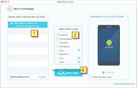 icloud backup for android transfer contacts from icloud to android using a mac