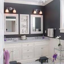 lilac kids bathroom accents design ideas
