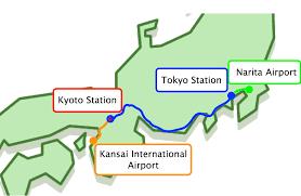 Narita Airport Map Venue Access Iscb 2018