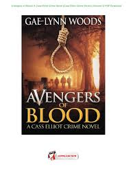 avengers of blood a cass elliot crime novel cass elliot crime