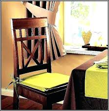chair pads with ties magnificent tie on cushions for kitchen