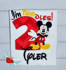 mickey mouse birthday shirt 41 best birthday shirts for wyatt s 2nd birthday images on
