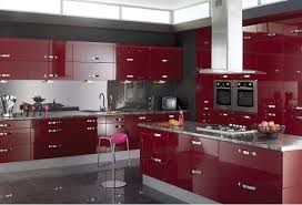 High Gloss Black Kitchen Cabinets 15 High Gloss Kitchen Designs In Bold Color Choices Home Design