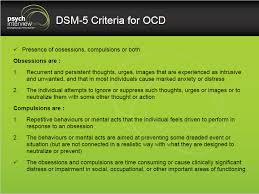 Dsm 5 Desk Reference How To Diagnose Obsessive Compulsive Disorder Clinical Interview