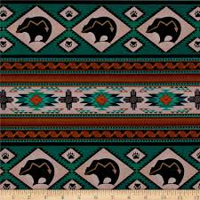 tucson bear stripe turquoise crafts studios and home