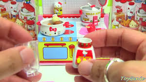 Kitchen Collectibles Hello Kitty Happy Kitchen Rement Collectibles Youtube