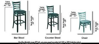bar stool height chairs standard bar stool height flamen