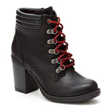 womens boots for hiking union bay womens hiking boots jcpenney