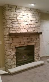 fireplace exciting stone facade fireplace home furniture