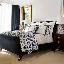 Ralph Lauren Comforter King Ralph Lauren Home Serena Cream U0026 Navy Duvet Cover Super King
