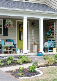 Summer Porch Decor by Spring Summer Front Porch Jenna Burger