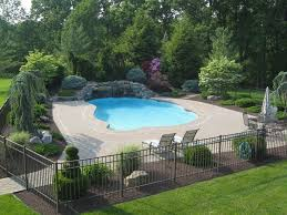 Best  Pool Landscaping Ideas On Pinterest Backyard Pool - Swimming pool backyard designs