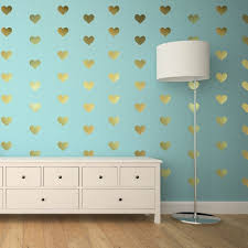 Heart Wall Stickers For Bedrooms 16 Best Gold Heart Wall Decals Images On Pinterest Heart Wall