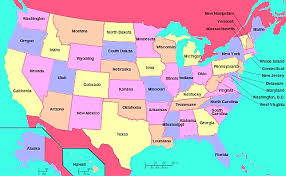 map of us states names map of us states with names map of usa with state names mr