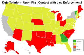 Blank Map Of 50 States by Do You Have A Duty To Inform When Carrying Concealed We Look At