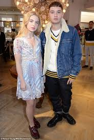 anais gallagher and rafferty law at tommy hilfiger lfw daily