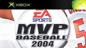 mvp baseball 2004 xbox gameplay ea sports 2004 hd youtube