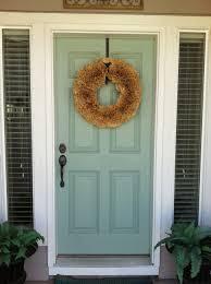 Exterior Door Color Combinations Beige House Front Door Paint Color Schemes Blue Is Calming