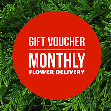 monthly flower delivery gift voucher monthly flower delivery sydney only