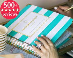 wedding planning organizer wedding planner book etsy
