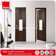 Modern Bathroom Door Modern Flush Design Interior Bathroom Door With Frosted Glass