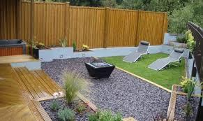 Australian Garden Ideas by Long Garden Ideas Best Family Garden Divided Into Three Areas
