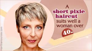 short hairstyles for women over 40 to reveal their snazzy side
