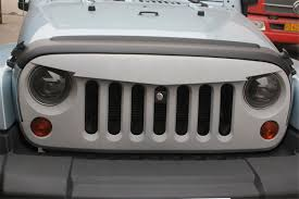 american flag jeep grill angry bird sport front hood grille 07 17 jeep wrangler jk
