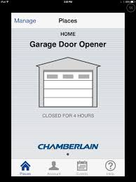 garage door opens by itself gigaom the chamberlain myq review connected garage doors are