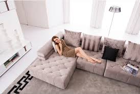 grand canapé d angle en tissu canapé d angle pas trop grand royal sofa idée de canapé et