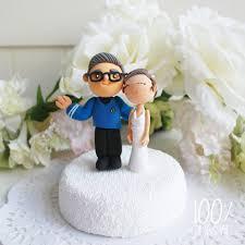 custom cake topper star trek theme