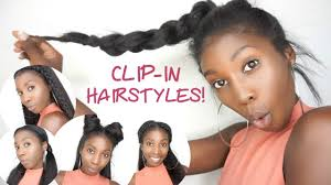 knappy clip in hair extensions 5 easy clip in back to school hairstyles knappy hair extensions