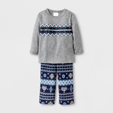 infant hanukkah pajama set wondershop gray target