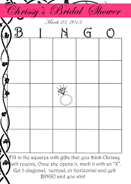 bridal shower gift bingo 29 images of bridal shower bingo blank template infovia net