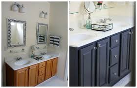 paint bathroom vanity ideas painting bathroom cabinets black home design and remodeling ideas