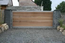 portail pour maison pas cher jardin et portail bois métal