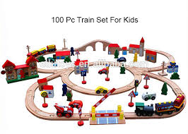 preschool kids toys building blocks train craft toddler railway