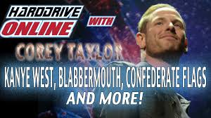 Flags And More Corey Taylor Destroys Confederate Flags And More Youtube