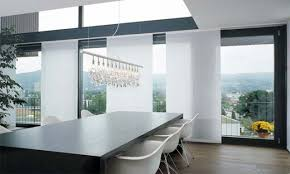modern kitchen window treatments modern window treatment ideas