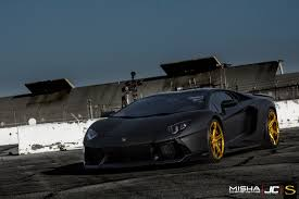 lamborghini gold matte black lamborghini aventador savini forgred wheels sv59d high