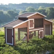 boomer u0026 george dual use rabbit hutch chicken coop hayneedle