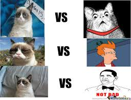 Tard The Grumpy Cat Meme - tard the grumpy cat vs memecenter by recyclebin meme center