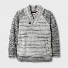 genuine from oshkosh toddler boys shawl collar sweater