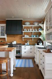 planked kitchen backsplash mountainmodernlife com
