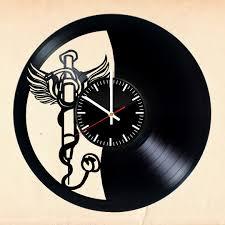 nursing vinyl record wall clock unique design u2013 lampsillu