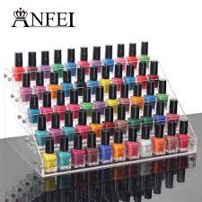 makeup storage rotating nail polish organizer makeup and cases